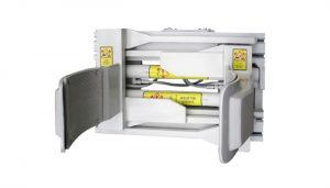 Forklift Eklenti Çelik Beyaz 55 Galon Forklift Davul Kelepçesi