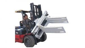 575-2150 mm ile Sınıf 3 Forklift Ekleri Pamuk Balya Kelepçe