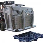 Forklift eki beton blok kelepçe sınıf 3 ve#038;