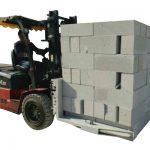 Hidrolik Forklift Beton Tuğla / Blok Kaldırma Kelepçesi