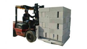 Hidrolik Forklift Beton Tuğla Blok Kaldırma Kelepçesi