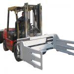 Forklift ile Çatal Kamyon Döner Balya Kelepçeleri
