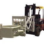 Forklift lastik eki eki teleskopik lastik kelepçeleri