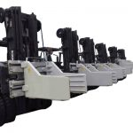 2.7 Ton Forklift Balya Kelepçesi Ekleri