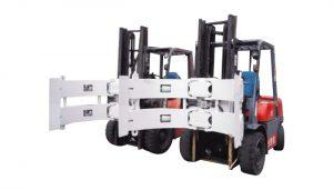 Forklift Parçaları Forklift Ekleri Çelik Döndürücü Kağıt Rulo Kelepçesi