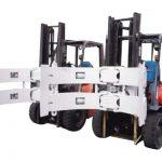 Alçıpan Yüzüne Karşı Kullanılan Hidrolik Forklift 25f Kağıt Rulo Kelepçe Parçaları