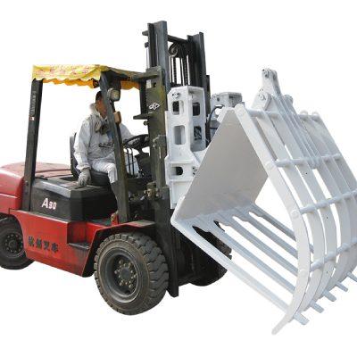 Forklift Kimyasal Elyaf Atık Kağıt Menteşeli Kırıcı
