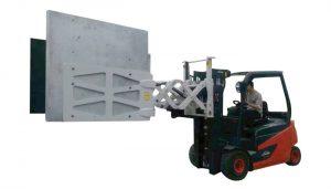 Forklift elektronik ev aletleri kağıt karton kelepçeleri