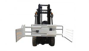 Forklift ile büyük açılış aralığı asansör kamyon eki balya kelepçe ekipmanları