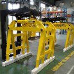 Satılık yüksek Kaliteli Forklift Beton Çan Tipi Blok Kelepçeleri