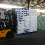 Mekanik Endüstriyel Forklift Eklenti Hidrolik Yük Sabitleyici